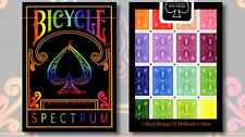 Bicycle Spectrum Deck Playing Cards Poker USPCC Ellusionist T11 TallyHo Bee D&D