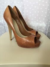 "Carvela 100% Leather Stiletto Very High Heel (greater than 4.5"") Women's Shoes"