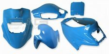 KIT CARÉNAGE CAPOT ICE BLEU POUR PGO Hot 50 12ZOLL BIG MAX BODYWORK bleu
