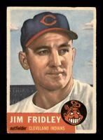 1953 Topps Set Break # 187 Jim Fridley VG-EX *OBGcards*