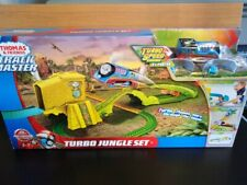 Thomas & Friends TURBO Jump Jungle Train Set New And sealed pre brexit deal