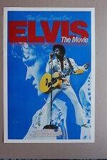 Elvis the Movie Lobby Card The King Lives on