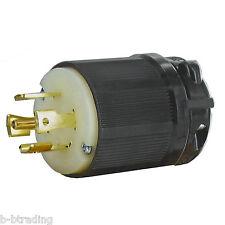 Olympia NEMA L21-30 Male Plug 30A 3Ø Y 120/208V 4 Pole 5 Wire Grounding L21-30P
