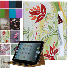 iPad 2/3/4 2nd 3rd 4th Generation Leather Smart Case Cover Stand Wallet Pocket