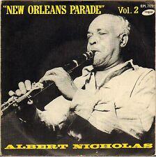 "ALBERT NICHOLAS ""NEW ORLEANS PARADE"" 50'S EP VOGUE 7172 CLAUDE BOLLING !"
