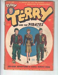 Terry and the Pirates 12 GVG (3.0) 10/48 Harvey Publications!