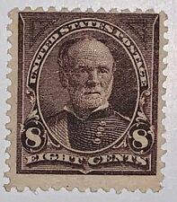 Travelstamps: 1895 US STAMPS SCOTT #272 SHERMAN 8c MINT OG MOGLH