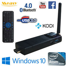 Measy T8C Intel 4G 64G Windows 10 TV Media Stick Mini PC WiFi HDMI RC7 USB Mouse