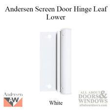Andersen Lower Screen Door Hinge Leaf in - White
