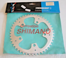 CORONA Vintage stronglight RD390 COMPATIBILE SHIMANO Chainring 46 DENTI CICLISMO