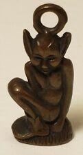 """Dartmoor Pixie Pendant 1-1/2"""" Bronze"""