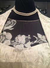 John Charles Mother Of The Bride Pale Honey Gold Roses Lace Outfit Size 16 / 18