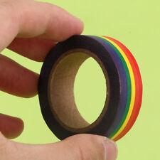 Decorative 15mm Novelty Washi Paper Scrapbook Masking Rainbow Tape Stationery