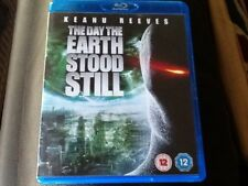 The Day The Earth Stood Still (Blu-ray, 2009) 2 DISC SET . KEANU REEVES