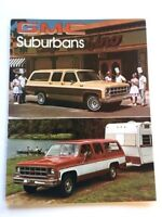 1978 GMC Suburban Original Car Sales Brochure Catalog