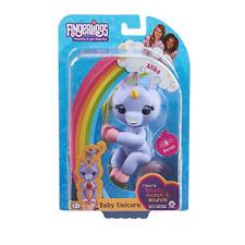 WowWee Fingerlings Baby Purple Unicorn Interactive Toy - Alika