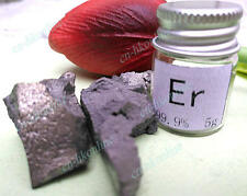 5 grams High Purity 99.9% Erbium Er Metal Lumps