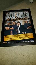 AC/DC Rare Original Rock Or Bust European Tour Promo Poster!