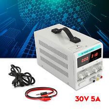 Adjustable Power Supply 30v 5a 110v Precision Variable Dc Digital Lab Withclip F1