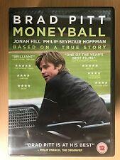 BRAD PITT JONAH HILL MONEYBALL ~ 2011 Béisbol / Deportes Drama GB DVD
