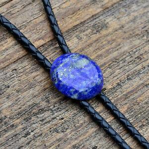 Lapis Lazuli Stone Bolo Tie - Four Bolo Tip Options