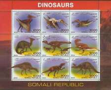 Dinosaurs On Stamps -  Sheet of 9 - 4153