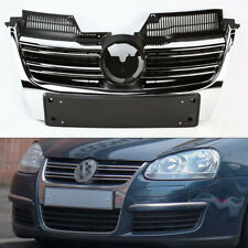 Chrome Front Bumper Hood Replacement Grill for Volkswagen Jetta 2006-2010