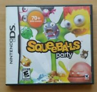 Squeeballs Party Nintendo DS DS Lite 3DS 2DS Game Works Tested Complete