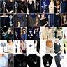 Fashion Crystal Beaded Tassel Pendant Necklace Long Sweater Chain Women Jewelry