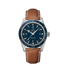 OMEGA Genuine Leather Strap Adult Wristwatches