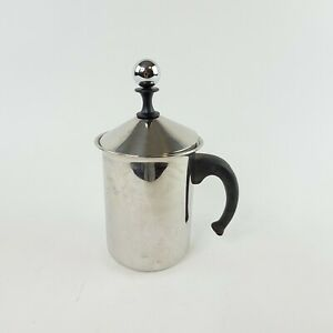 Frabosk Cappuccino Frother Coffee Creamer Italy 18/10 Stainless Steel