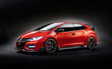 """HONDA CIVIC TYPE R CONCEPT A1 CANVAS PRINT POSTER FRAMED 33.1"""" x 21.4"""""""