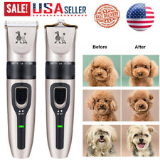 New Dog Shaver Clipper Low Noise Rechargeable Cordless Electric Hair Shaver Set