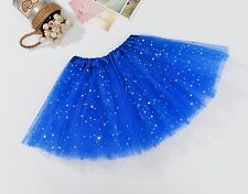 Ladies Kids Sparkly Sequin Ballet Tutu Party Fancy Dress Dance Halloween Skirts