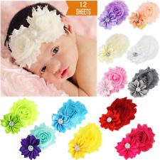 12Pcs Cute Girl Kids Newborn Baby Toddler Infant Headband Headwear Accessories