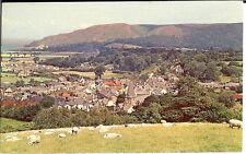 Somerset: Porlock Village - Posted 1977