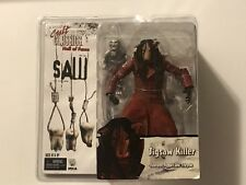 NECA Reel Toys Cult Classics SAW 3 Pig Jigsaw Killer w/ Puppet & Tricycle Figure
