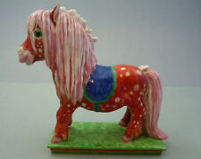 Shetland Pony rot Pferd Fohlen H12cm Nymphenburg  Figur Nr.988a TOP 1.Wahl