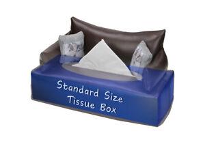 TISSUE BOX COVER - HAND MADE GIFT NAPKIN HOLDER CASE COVER PAPER BOX