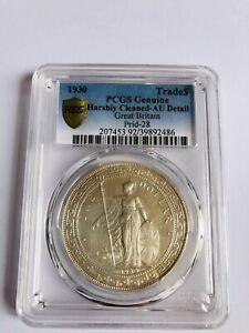 1930 British Emperor Trade Dollar Prid-28 PCGS