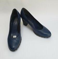 The FLEXX Shoes Heels Pumps Blue Slip On Womens Size US 7.5 EU 38.5