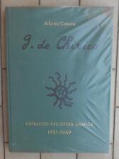 ALFONSO CIRANNA GIORGIO DE CHIRICO CATALOGO DELL'OPERA GRAFICA 1921-1969