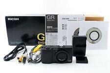 【MINT in BOX!!】 Ricoh GR Digital 8.1MP Digital Camera Black from Japan A0324