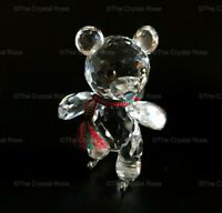 RARE Retired Swarovski Crystal Kris Bear on Skates 193011 Mint Boxed Christmas