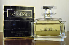 NOTORIOUS RALPH LAUREN 1.7 OZ / 50 ML EDP SPY PERFUME WOMEN DISCONTINUED