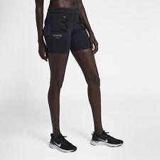 Women's Nike Gyakusou Short Tights Black Purple Dynasty Size XS AH1178 050 NWT
