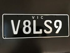 HSV GTS W1 number plate