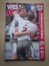 Bristol City v Rotherham United 5/5/2007