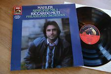MAHLER Sinfonie Nr. 1 Philadelphia Orchestra RICCARDO MUTI LP Emi 2700071