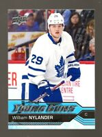 2016-17 Upper Deck #249 William Nylander YG RC